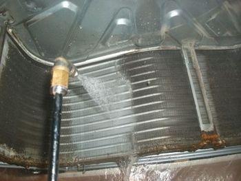 業務用エアコン洗浄 四街道市内 美容室