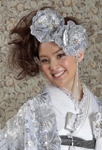 和装ヘア上級者  茨城県桜川市レンタル衣装店