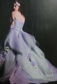 涼しげカラードレス☆桜川市より