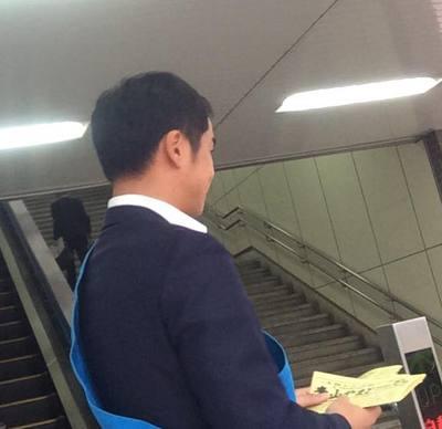 6/29 駅立ち 荒川沖駅東口編