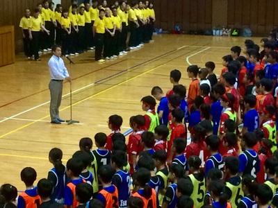 第3回イオン杯小学校生ドッジボール大会