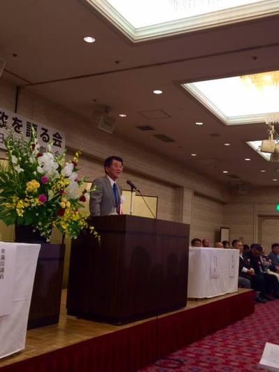 本日は中川清市長の市政報告会。