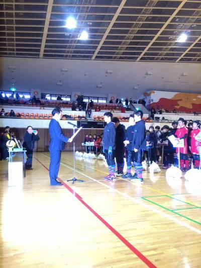 「HEROSカップ」表彰式。