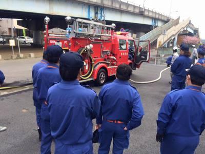 土浦市消防団の各講習