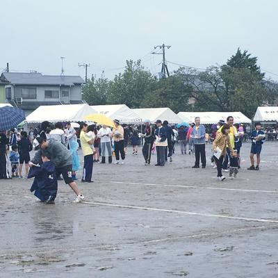 土浦市内、市民体育祭ですが