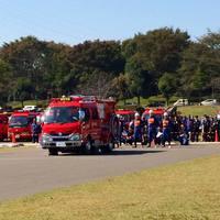 消防ポンプ操法競技大会県南北部地区大会