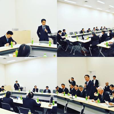 茨城県農林水産業関係団体連絡会の意見交換