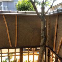 植木屋の作る土壁