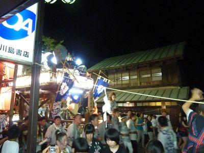 真壁祇園祭にて