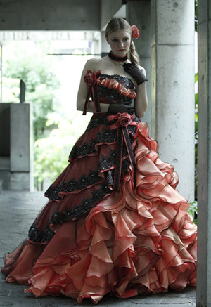 秋冬ドレス