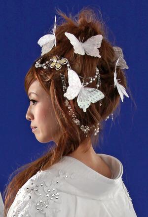 和装のヘアー