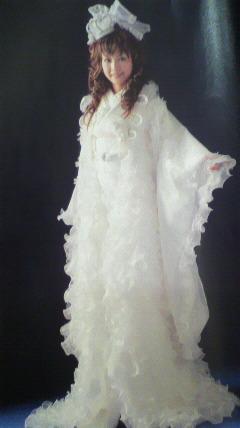 天使のような和装