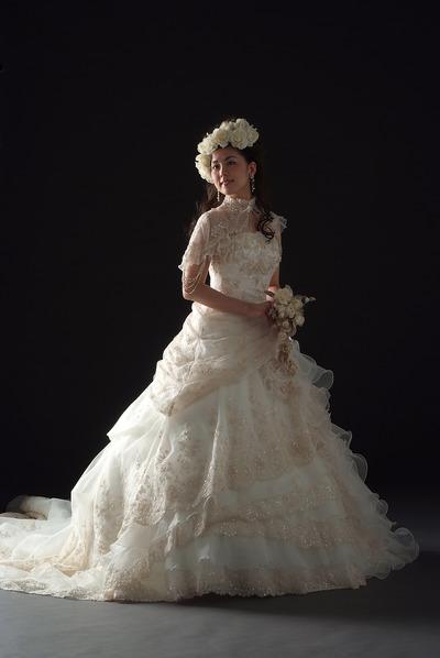 綺麗なウエディングドレス