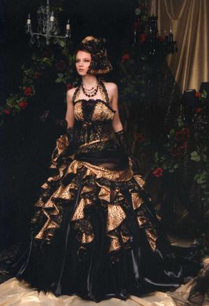 豹柄ドレス