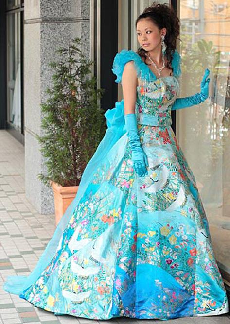 きものドレス3