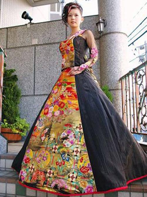 きものドレス6
