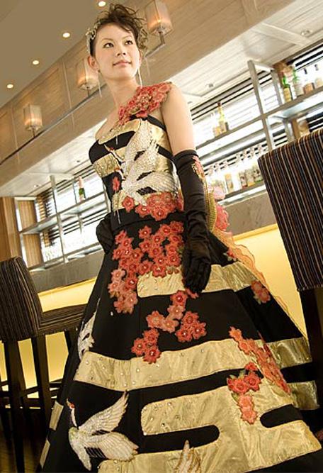 きものドレス8