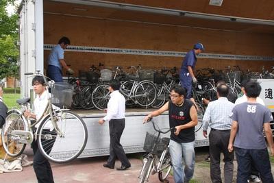 まだまだ続く被災地支援。(自転車プロジェクト)