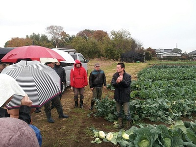 来年は県議会にて農林水産委員会を希望しています。
