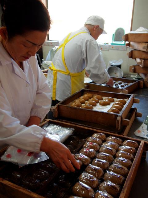 --- 和菓子のど真ん中、お饅頭 ---