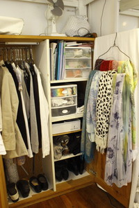 パリのワードローブ(1) 服&スカーフ