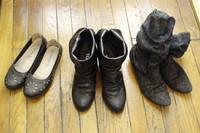 パリのワードローブ(4) 靴類