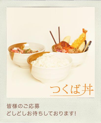 つくば丼レシピコンテスト、〆切は七月二十日です!