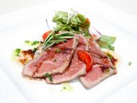 牛肉のタリアータ ローズマリー風味