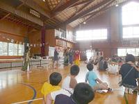 つくば市立柳橋小学校の国際理解教室のボランティア