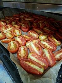 自家製ドライトマト作りました コッコリーノ つくば