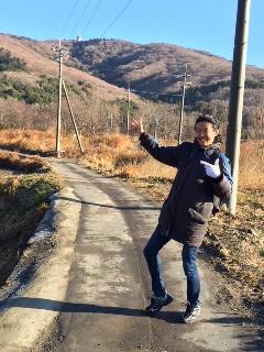 元旦に宝篋山へ登山し初日の出を観てきました。