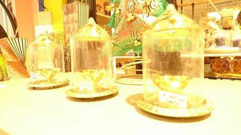 ガラスシェード香立て(2)