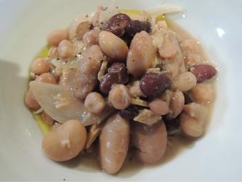 トスカーナ人の豆料理!