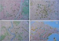 イタリア4都市マップのランチョンマット!