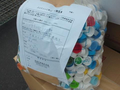 NPOサカスグループ様☆エコキャップ活動報告 No,2543