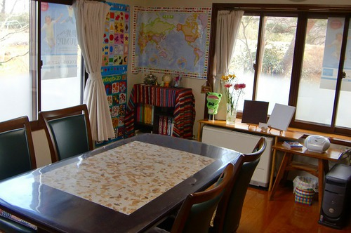 教室はこんな感じです