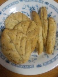 玄米粕で作ったクラッカー