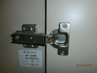 扉の金具交換