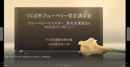 【動画特集6】ACCSインタビューを受けるブルーべりーマイスター!