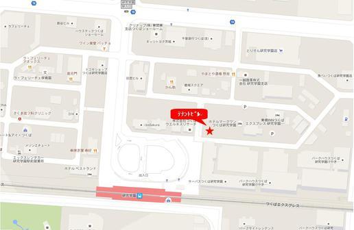 研究学園駅間近におしゃれな飲食店ビルができそうです!