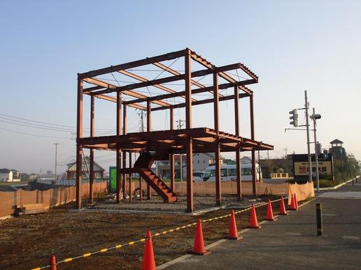 研究学園周辺のお店建設ラッシュ(号外)!フルーツ・タルト屋さん開店間近で中が丸見え。ドッグサロン姿を現す!