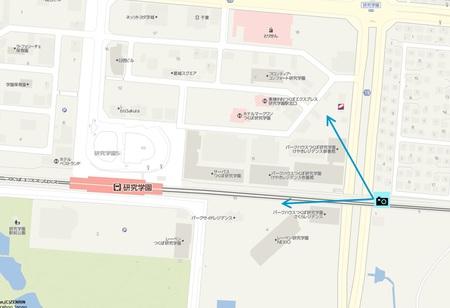 【今昔38】つくばエクスプレス沿い遊歩道から研究学園北口方面の変化の様子!