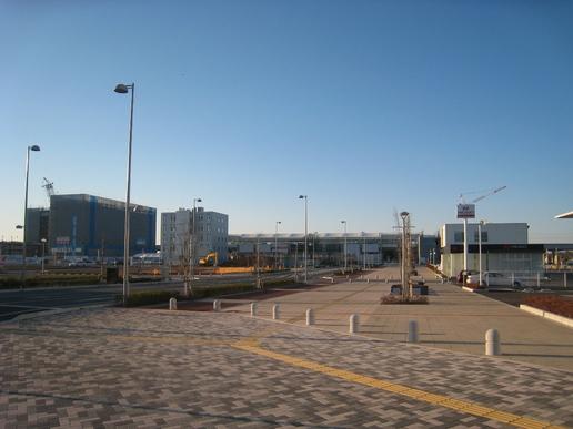 【変遷19】研究学園駅入口交差点から駅方面の変化の様子を見る!まさにシムシティだ!!