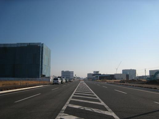 【変遷18】新都市中央通り『赤牛』付近から東側(研究学園中心部)を望む!