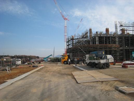 【変遷14】北関東最大級のショッピングセンター「イーアス」の建設現場を覗き見た!