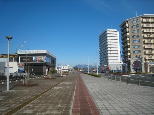 駅前ストリート(2008年12月23日撮影)
