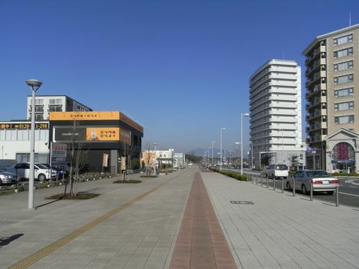 駅前ストリート(2009年11月21日撮影)