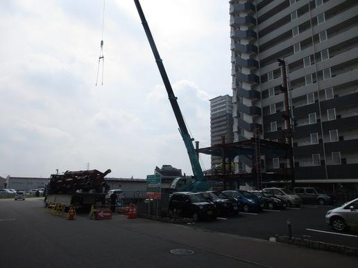 とりせんの横に建設中の(仮称)研究学園駅前テナントビルが姿を現す!