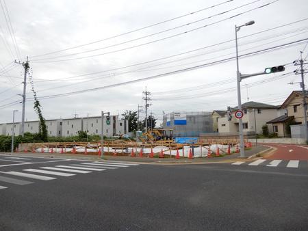 ミートコの近くで工事が始まった!(よかっぺ研究学園より)