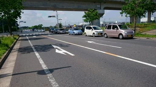 周辺道路も大渋滞